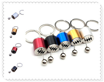 Car shape gear metal keychain model simulation pendant hot sale for BMW E34 F10 F20 E92 E38 E91 E53 E70 X5 M M3 image