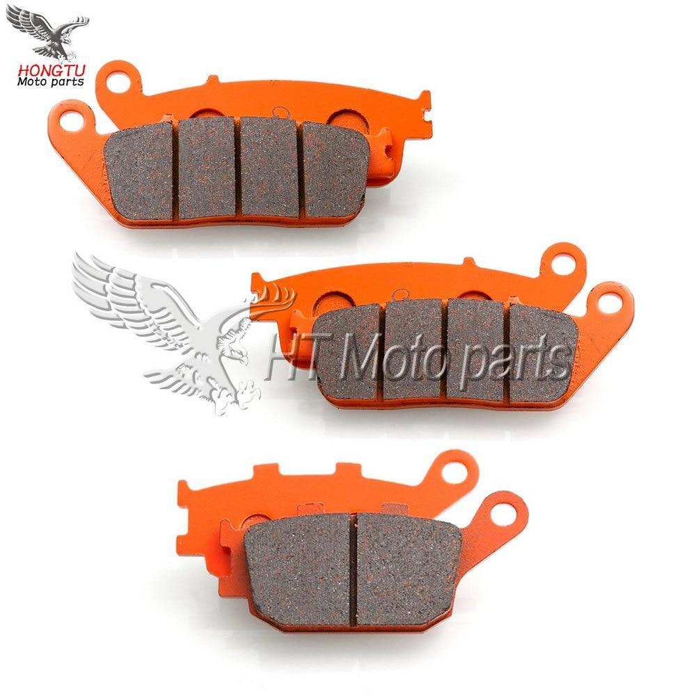 Cyleto Rear Brake Pads for Suzuki SFV650 Gladius 650 2009 2010 2011 2012 2013 2014 2015//SFV 650 2009-2013//SV650 2017