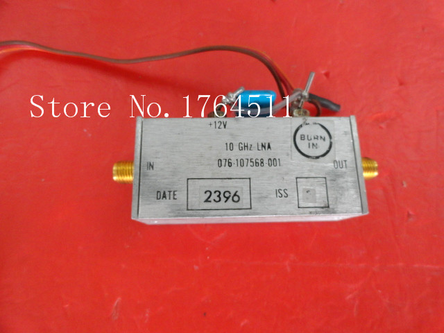 [BELLA] HARRIS 076-107568-001 10GHz 12V SMA Amplifier Supply