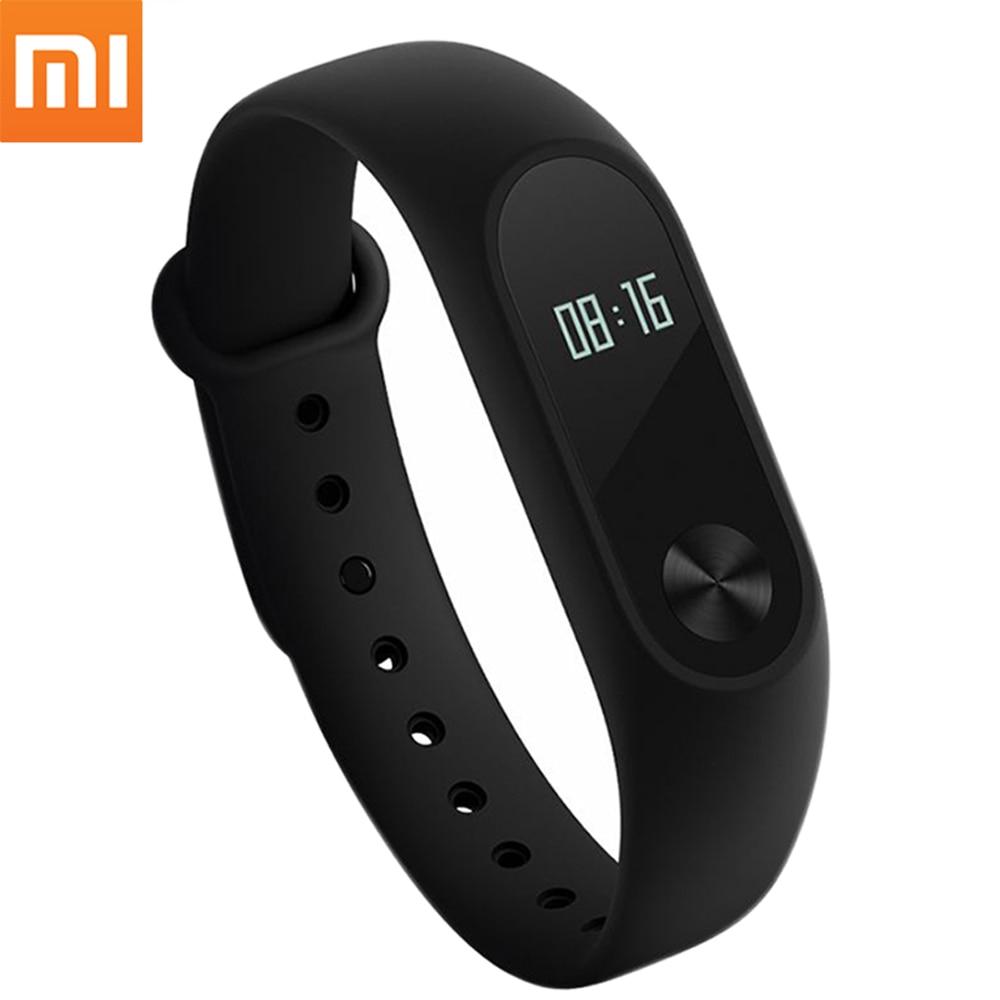 Xiaomi Mi Band 2 Miband Mi Band2 Bracelet IP67 Waterproof Watch Wristband Smart Heart Rate Monitor Fitness Tracker OLED Touchpad