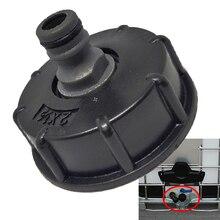 1Pc Neue IBC Schlauch Adapter Minderer Stecker Wasser Tank Fitting 2 Standard Grob Gewinde Durable Garten Schlauch Rohr Tippen lagerung