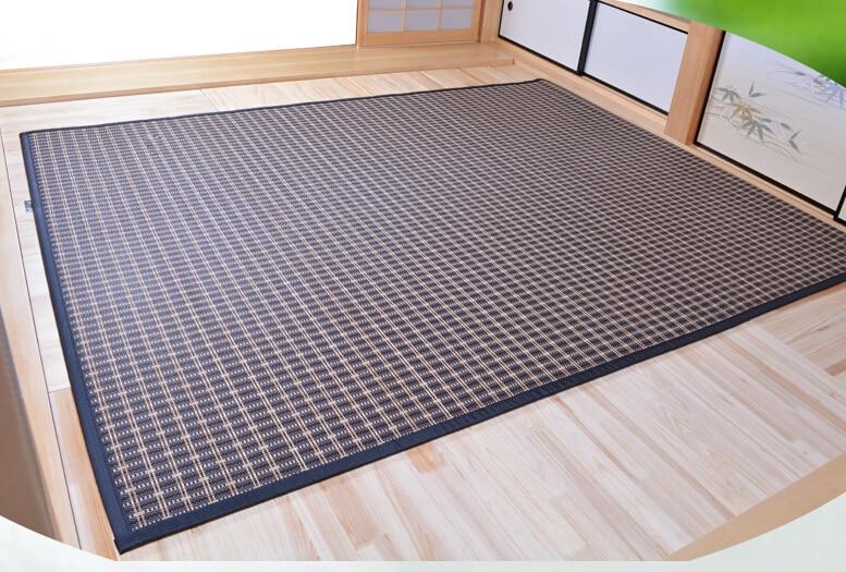 Japāņu grīdas bambusa paklāja spilventiņš ar lielu izmēru - Mājas tekstils - Foto 4