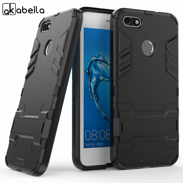 AKABEILA Hybrid Phone Cases Covers For <font><b>Huawei</b></font> Nova Lite <font><b>2017</b></font> Enjoy 7 P9 lite mini SLA-L02 SLA-L22 SLA-L03 <font><b>Y6</b></font> Pro <font><b>2017</b></font> Case image