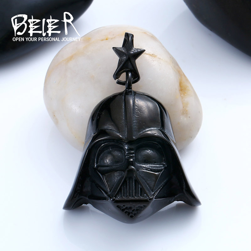 Stainless Steel Star Wars Darth Vader Mask Movie Pendant Necklace For Man Woman Boy s Cool