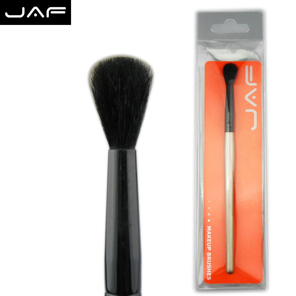 JAF 1 PCS Soft Goat Hair Tapered Blending Brush Natural Eye Shadow Eyes Cosmetic Makeup Beginner Make Up Tool