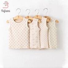 Детская одежда из органического хлопка Одежда для малышей для новорожденных Для маленьких мальчиков девочек Комбинезоны для малышек Нижнее Бельё для девочек младенцев пижамы без рукавов шпалы костюм новогодние костюмы