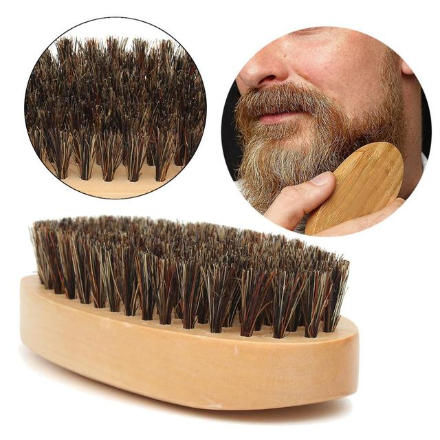 natural beard brush. Black Bedroom Furniture Sets. Home Design Ideas