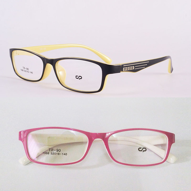 Memory Plate Glasses Box Small Box Pink Glasses Black Yellow Picture ...