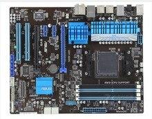 Free shipping 100% original Desktop motherboard for M5A97 EVO Socket AM3/Socket AM3+ DDR3