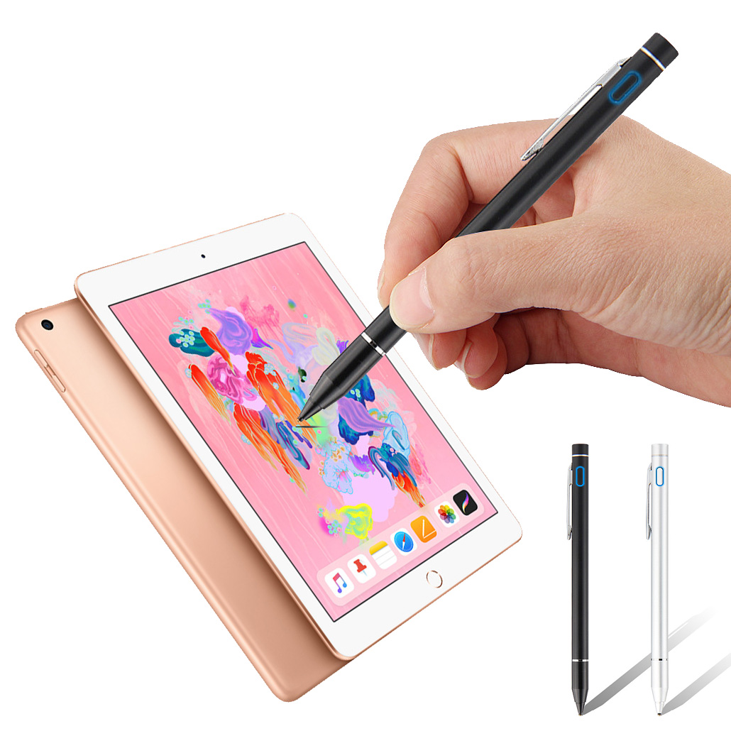 Smart Tablet Pencil Touch Screen Drawing Pen Stylus Metal Nib For