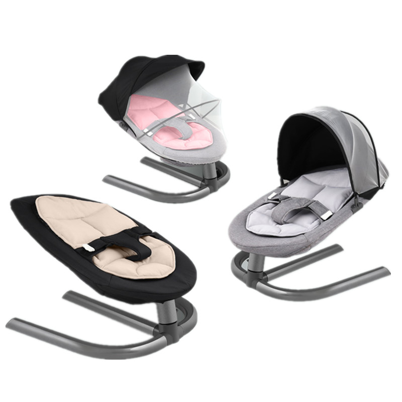 Baby Rocking Chair Kids Infant Swing Aluminum Alloy Baby Bouncer Baby Cradles Bed Rocker Newborns Baby Rocking Chair Kids Infant Swing Aluminum Alloy Baby Bouncer Baby Cradles Bed Rocker Newborns