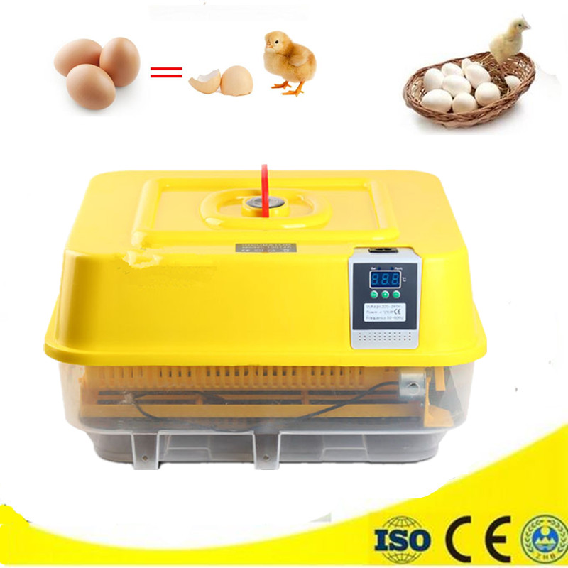 Hot Sale Chinese Factory Poultry Hatching Machine 48 Eggs Incubator Hatcher Chicken Quail Brooder household mini small eggs incubator auto hatchers poultry hatching machine equipment tool electric chicken brooder