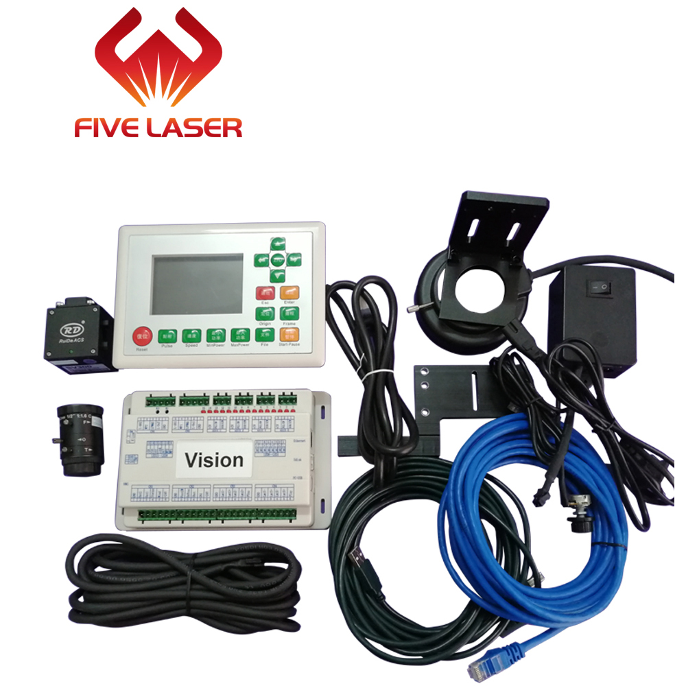 Vision Laser Cutting Controller System Ruida RDV6442G With CCD Camera For Automatic Vision Cutting