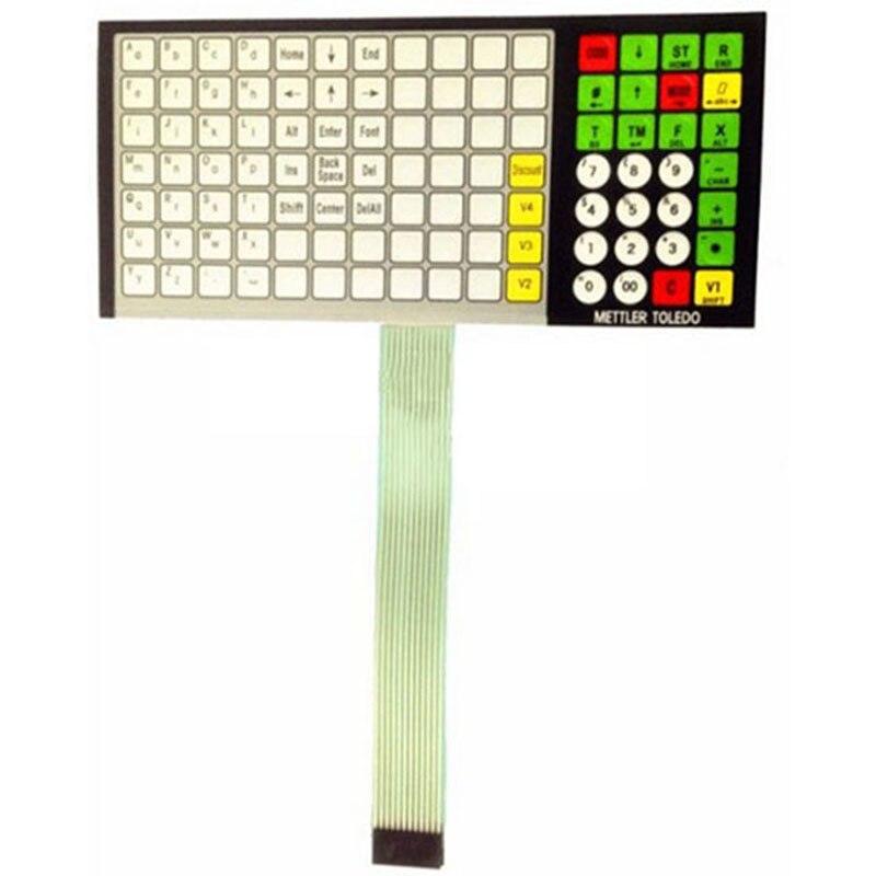 For METTLER TOLEDO 3650 3610 3950 ACS-JJ (RL00) Keypad membrane Keyboard warranty 3 month free to change or return 569110 999 color printhead for datacard sp55 sp35 sp75 cp40 plus card printers warranty 3 month free to change or return
