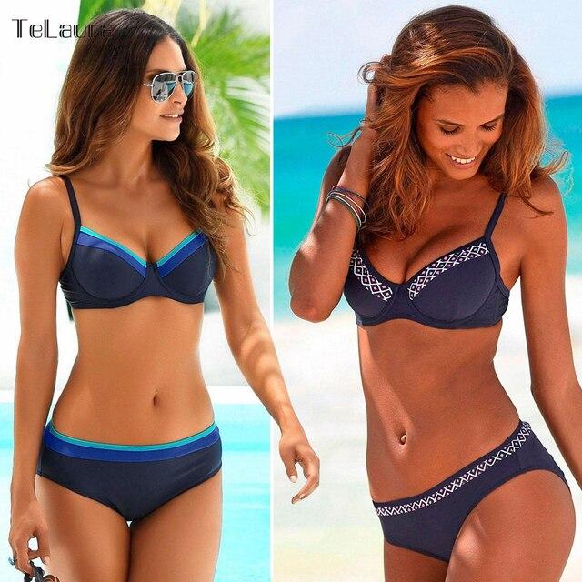 dfd4e334617 New Sexy Bikini Women Swimwear Push Up Swimsuit 2018 Bathing Suit Plus Size  Swimwear Biquinis Summer