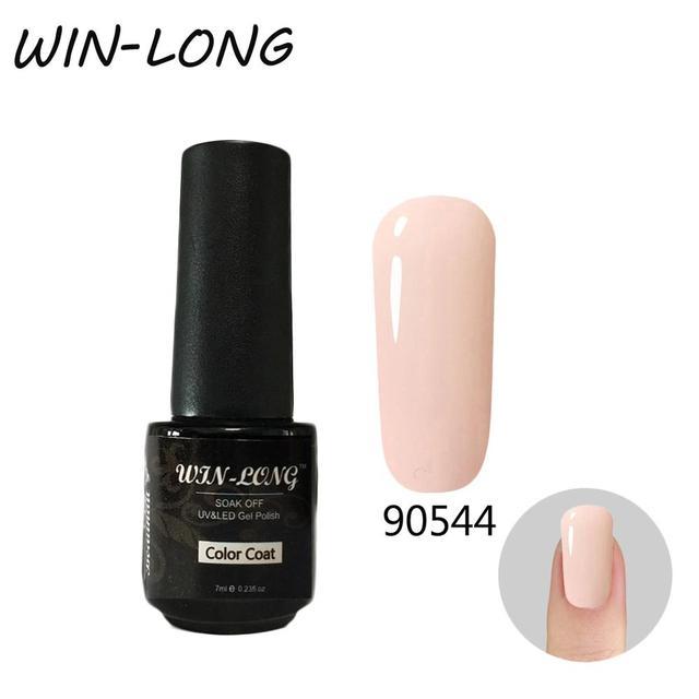 Купить беспроигрышный цветной лак для ногтей гель 7 мл уф гель чистый картинки цена