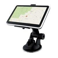 5 Polegada navegação gps carro caminhão navigator 128 m + 8 gb mtk fm sat nav navitel rússia mapa europa américa ásia áfrica mapas #560 GPS p/ veículos Automóveis e motos -