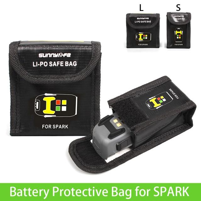 Spark Lipo Safe Bag Battery Protective Storage Explosion Proof For Dji