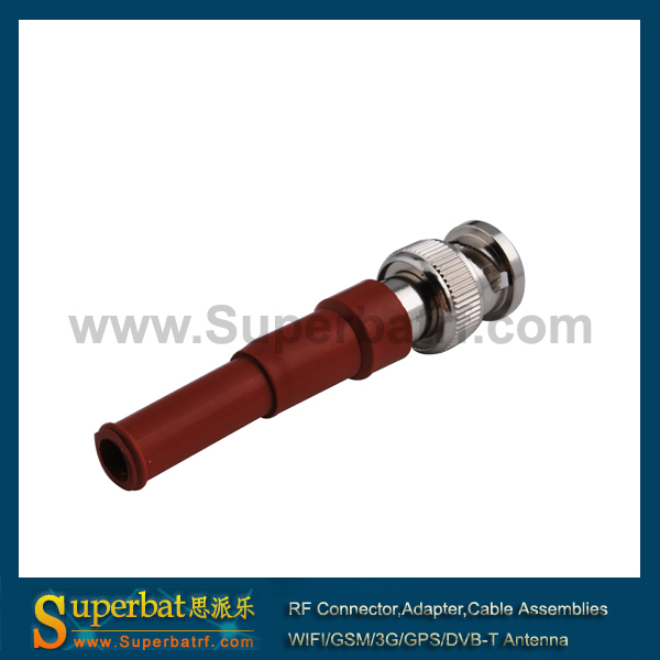 Superbat  BNC male plug high voltage power connector MHV 3000V RG59