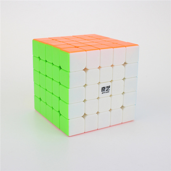 QiYi QIZHENG S 5x5 Magic Cube Competition Speed Puzzle Cubes Toys For Children Kids cubo stickerless Matte cube  Gifts Toys mo yue guo guan yue xiao 3 3 3 black magic cubes puzzle speed rubiks cube educational toys gifts for kids children
