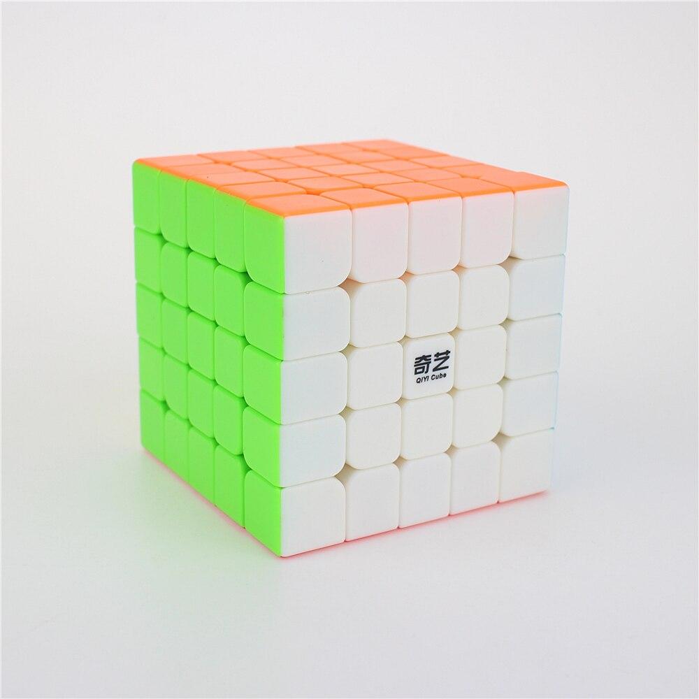 QiYi QIZHENG S 5x5 Zauberwürfel Wettbewerb Geschwindigkeit Puzzle Cubes Spielzeug Für Kinder Kinder cubo stickerless Matte cube geschenke Spielzeug