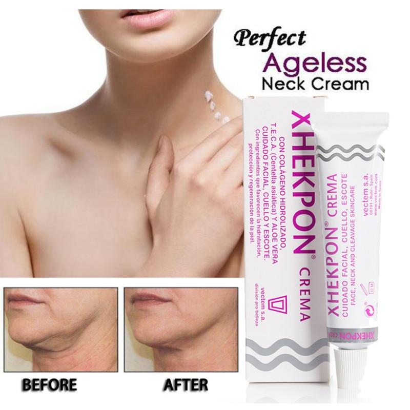 Cream-Wrinkle Whitening-Cream Neckline Anti-Aging Xhekpon 40ml And Smooth Crema-Face