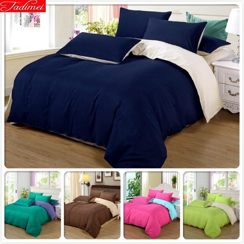 Hiver maison Textile 4 pièces linge de lit 1.5 m 1.8 m 2.0 m 2.2 m literie housse de couette drap de lit taie d'oreiller ensemble de literie 1.8x2.2 m 2 m * 2.3 m