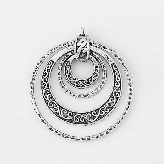 5pcs ethnic tibetan silver layer circle carved flower charms pendant 5pcs ethnic tibetan silver layer circle carved flower charms pendant for earring necklace jewelry making findings aloadofball Choice Image