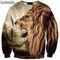 3D print Tiger angry lion Lobo anti social club social thrasher palacio yeezy off white shark bape bape sudaderas con capucha de los hombres sudadera