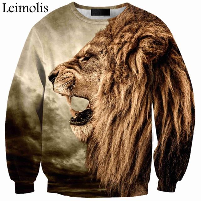 3D print angry Tiger lion Wolf anti social social club thrasher palace bape yeezy off white bape shark hoodies men sweatshirt