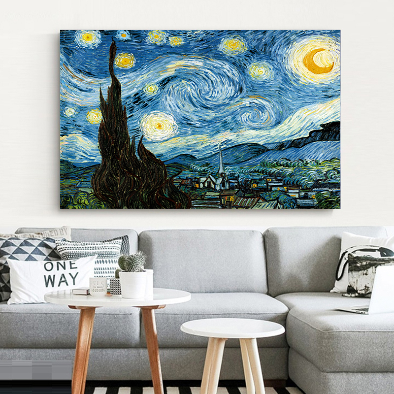 "VAN GOGH VINCENT THE STARRY NIGHT 168 ART PRINT POSTER 16/"" X 20/"""