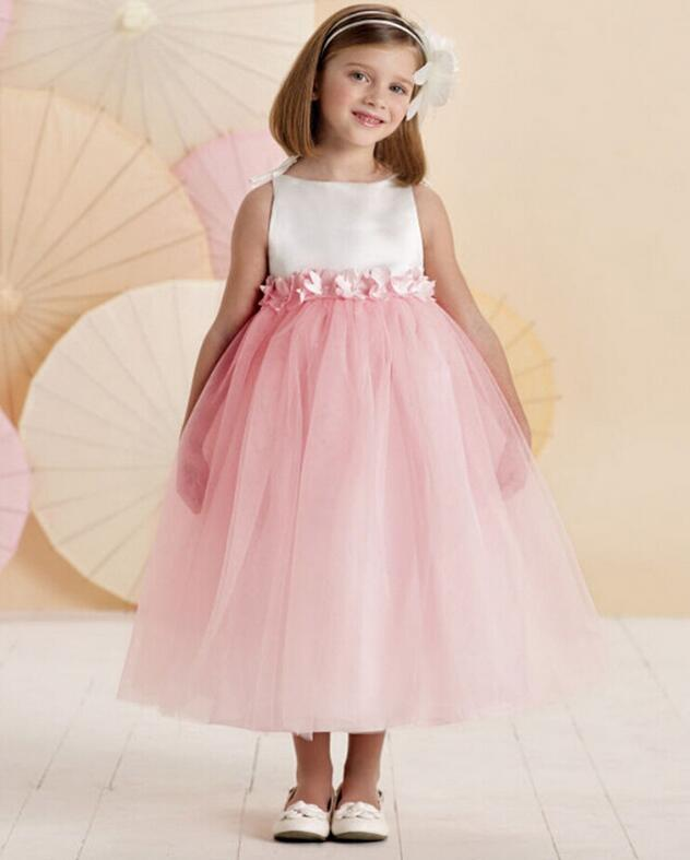 2017 dama niñas vestido estilo princesa vestidos de fiesta niños ...