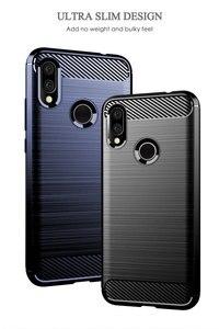 Image 4 - Silicone cassa Del Telefono Per Xiaomi Redmi S2 y2 Y3 In Fibra di Carbonio Antiurto TPU Della Copertura Posteriore Xiomi RedmiS2 Redmiy2 Redmiy3 Y 3 S 2 Custodie