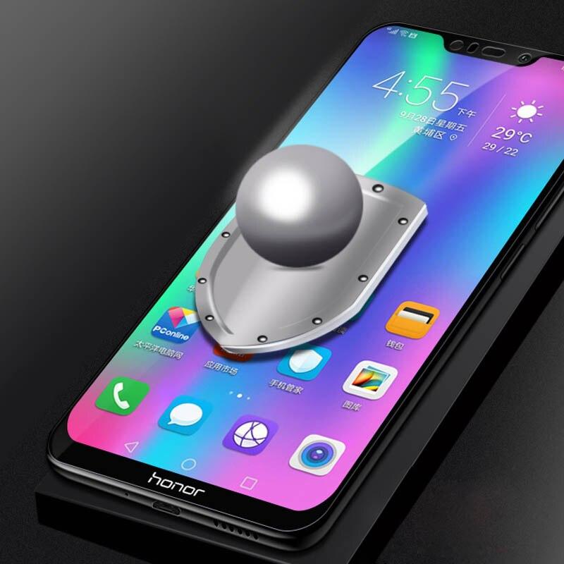 Image 5 - 9D изогнутое Защитное стекло для Huawei Honor 10i 20 10 Lite 9X 8X 8C 8A 8S на Hauwei P Smart Z 2019 S8 Honor10i полное клеевое стекло-in Защитные стёкла и плёнки from Мобильные телефоны и телекоммуникации