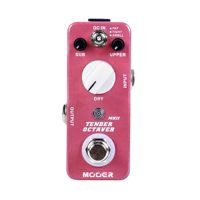 Mooer Tender Octaver MKII Precise Octave Guitar Effect Pedal 3 Tones Switch SUB UPPER DRY Controls
