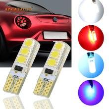2 x T10 W5W 194 168 luz de placa de matrícula bombillas LED para ALFA ROMEO 145, 146, 147, 155, 156 GT 159 166 Brera GTV Spider MITO