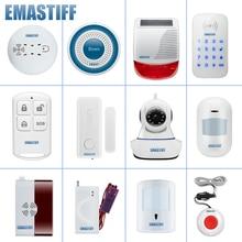 Accesorios de humo PIR para puerta completa, bricolaje, para el nuevo W2B, WIFI, sistema de alarma de seguridad GSM, inalámbrico, monitor de cámara de vídeo IP