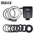 Meike FC 100 Macro Ring Flash/Licht FC100 für Nikon D7100 D7000 D5200 D5100 D3200 D3100 D90 D80 D800 D300S D3000 D600-in Blitze aus Verbraucherelektronik bei