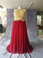 chiffon bridesmaid dress halter a line sexy bridesmaid dresses with Lace Long robe demoiselle d'honneur turquoise sho me