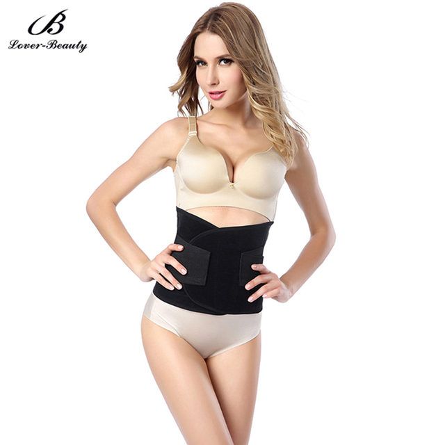 589569e2ffa4b Lover Beauty Sexy Waist Trainer Shaping Women s Body Tummy Control Hot  Underwear Modeling Strap Belt Slimming Corset Shapewear-A