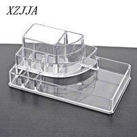 HOT 8 Grids Clear Acrylic Makeup Organizer Cosmetics Display Storage Box Case Jewelry Make Up Lipstick