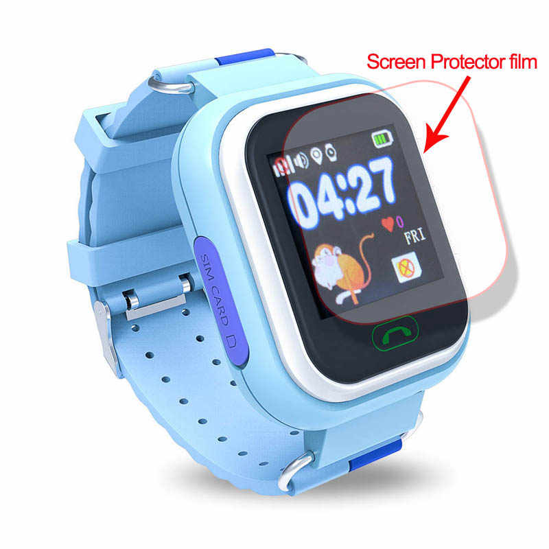 Chống Trầy Xước Chống Thả Nổ Màng Kính Màn Hình Bộ Phim Bảo Vệ Cho Q360 Q90 Q750 Q100 Cho Bé đồng Hồ Trẻ Em Dây Đồng Hồ Thông Minh Smartwatch