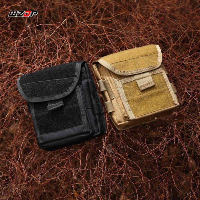 WZJP 1000D Homens Molle Tactical Pistol Gun Holster Revista Bolsa de Armazenamento Saco Mapa Saco Utilitário EDC Acessório Pack Mag Bolsa