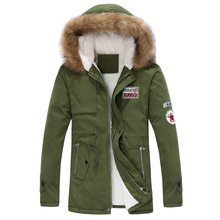 Couples Men Hoodies Women Warm Winter Jacket Velvet Liner Fur Collar Hooded Thick Coat Outerwear Thermal Jacket Long Wadded Coat
