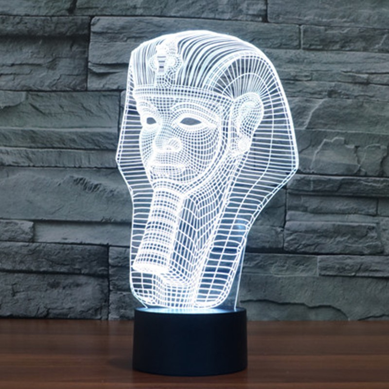 7-color-Holiday-Atmosphere-Decorative-Kids-gift-Pharaoh-Style-3D-Ilusion-LED-Night-Light (5)