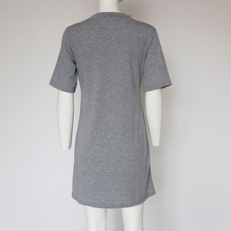 HTB1ipeZXU6FK1Jjy0Foq6xHqVXae - Sexy Women's Deep V-neck Shirts Women Tops Short Sleeve