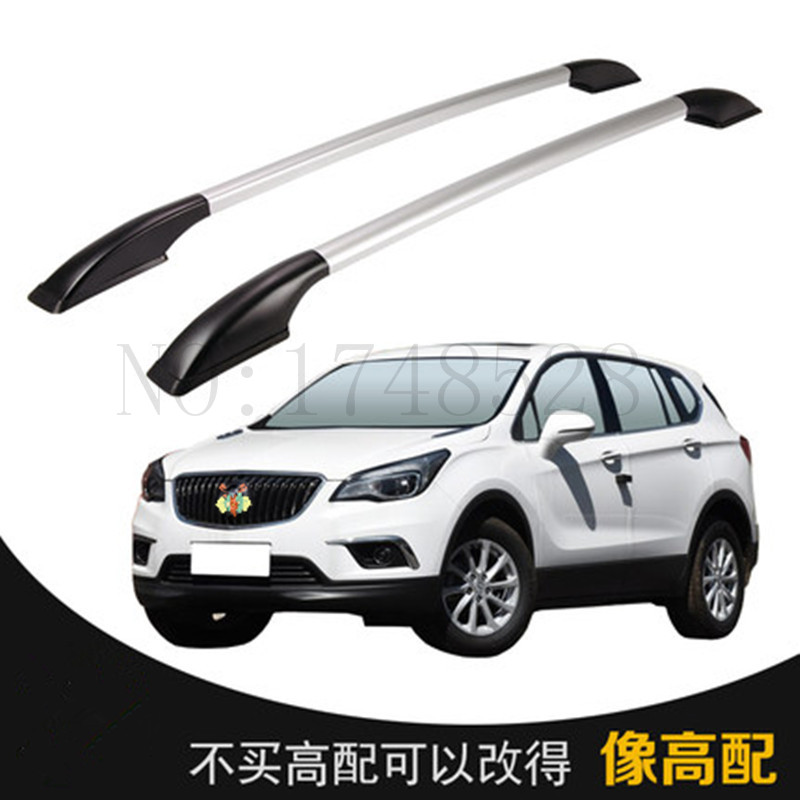 Free of punch Auto parts Refitting the roof rack of aluminum alloy luggage rack for Buick ENVISION 1.6M Accessories free shipping fiesta hatchback high quality aluminum roof rack luggage rack punch free 1 3 m