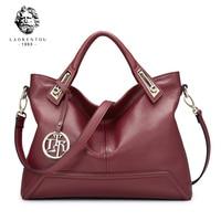 LAORENTOU Luxury Genuine Leather European Handbags Cow Leather Women S Handbags Made Of Genuine Ladies Real