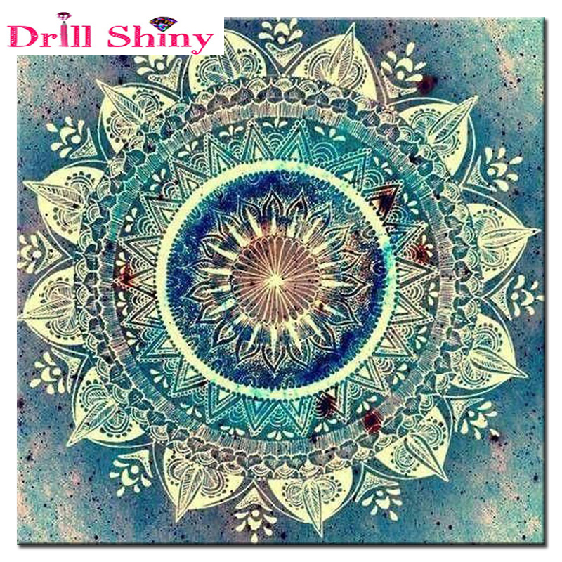 Art Diamond Embroidery 5D DIY Diamond Painting Mandala կրոնական Diamond Painting Rhinestone Cross Stitch Decoration