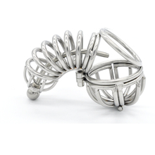 Stainless steel male chastity device metal cock cage catheter sound urethral sound penis lock men chastity belt sex toys